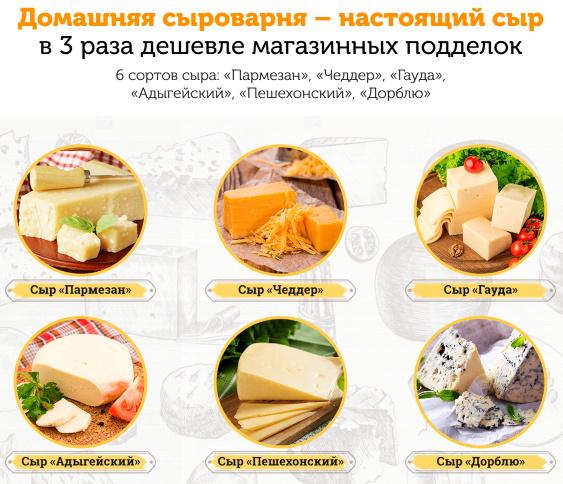 рецепт домашнего голландского сыра